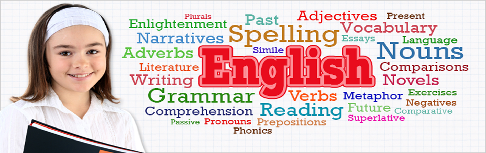 We provide English tutoring for students aged 6-16